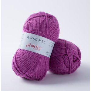 Phildar Partner 3,5 Fuchsia (21)
