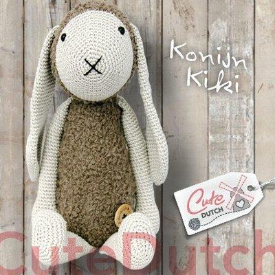 CuteDutch garenpakket konijn Kiki