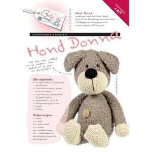 Haakpatroon CuteDutch hond Donna