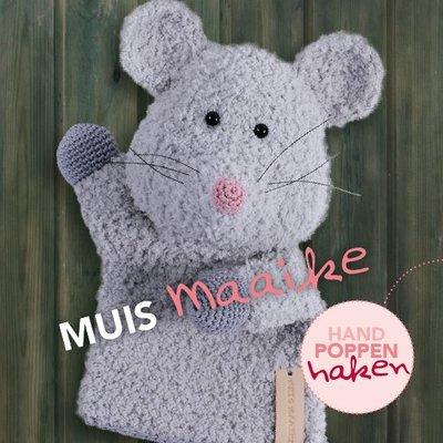 CuteDutch garenpakket handpop Muis Maaike
