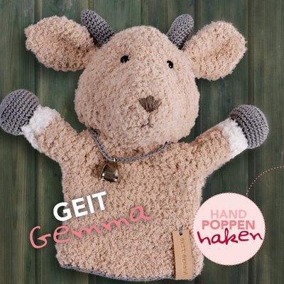 CuteDutch garenpakket handpop Geit Gemma