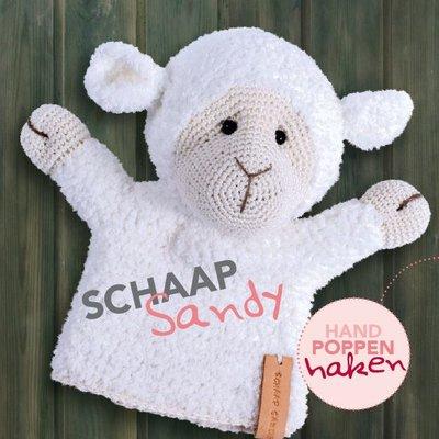 CuteDutch garenpakket handpop Schaap Sandy