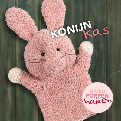 CuteDutch garenpakket handpop Konijn Kas