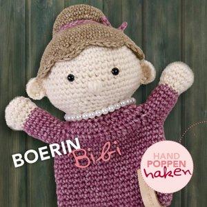 CuteDutch garenpakket handpop Boerin Bibi