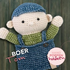 CuteDutch garenpakket handpop Boer Tom
