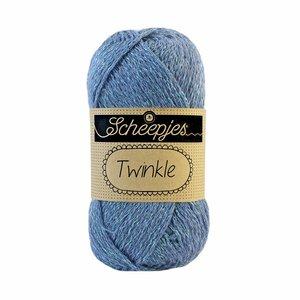 Scheepjes Twinkle 909 blauw/grijs