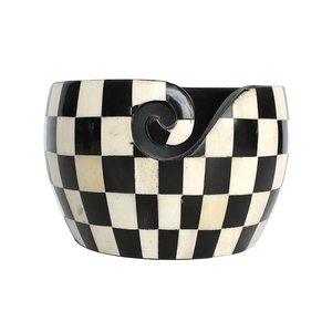 Scheepjes Yarn Bowl zwart/wit
