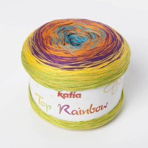 Katia Top Rainbow 87 Veelkleurig