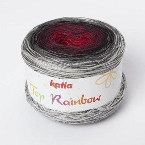 Katia Top Rainbow 85 Grijs / Zwart / Rood