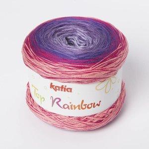 Katia Top Rainbow 84 Bleekrood / Lila