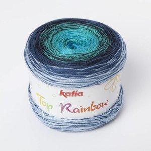 Katia Top Rainbow 83 Blauw / Waterblauw / Nachtblauw
