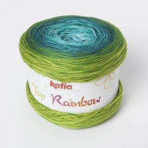Katia Top Rainbow 82 Groen / Groenblauw