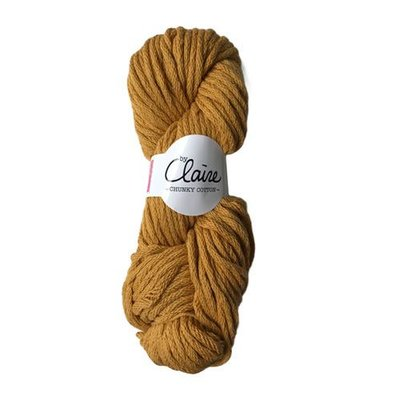byClaire byClaire Chunky Cotton 010 Ocher