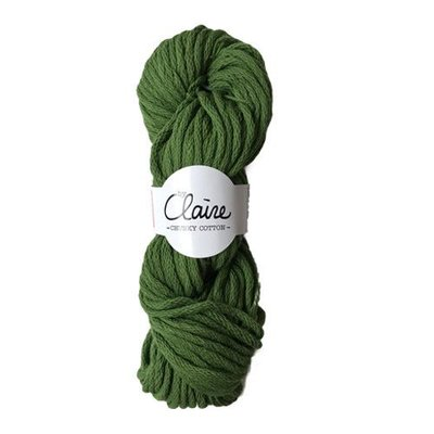 byClaire byClaire Chunky Cotton 008 Urban Green