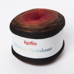 Katia Winter Rainbow 105 Rood-Bruin op=op