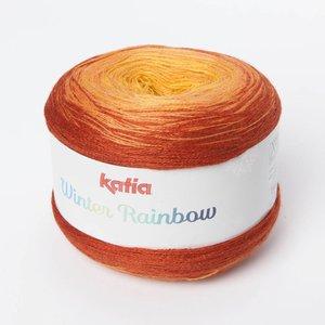 Katia Winter Rainbow 104 Oker-Terrabruin op=op