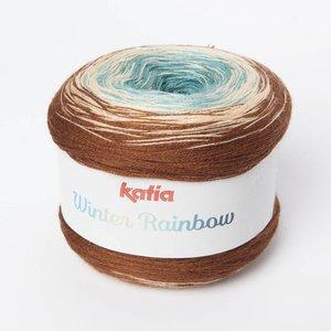 Katia Winter Rainbow 102 Beige-Turquoise