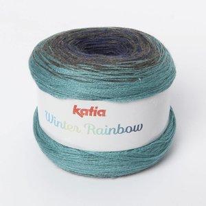 Katia Winter Rainbow 101 Jeans-Turquoise op=op