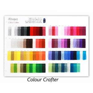 Scheepjes Colour Crafter stalenkaart