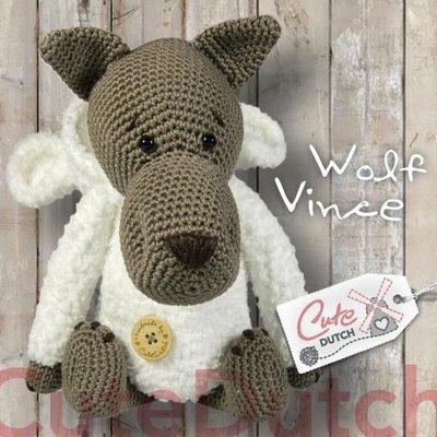 CuteDutch garenpakket Wolf Vince