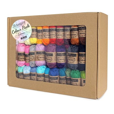 Scheepjes Catona 10 Colour Pack