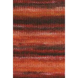 Lang Yarns Mille Colori 200 Oranje/rood (61)