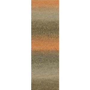 Lang Yarns Jawoll Magic 159  Oranje/bruin/beige
