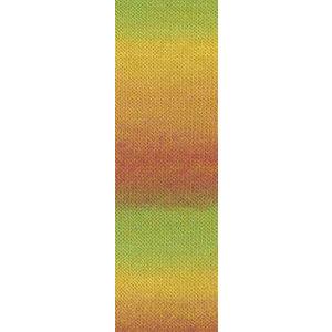 Lang Yarns Jawoll Magic 59  Groen/geel