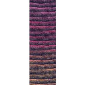 Lang Yarns Jawoll Magic 53 Roze/zwart