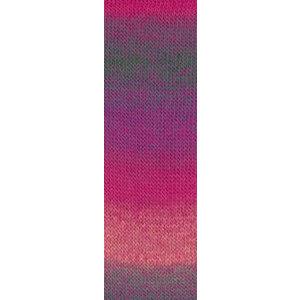 Lang Yarns Jawoll Magic 50 Blauw/roze