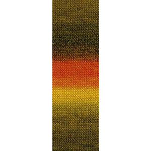 Lang Yarns Jawoll Magic 13 Geel/oranje
