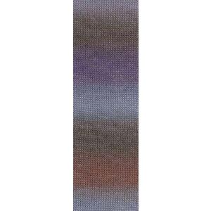 Lang Yarns Jawoll Magic 7 Lila/violet/bruin
