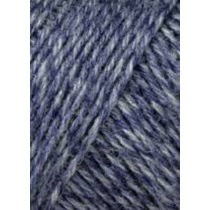 Lang Yarns Jawoll Superwash 258 Jeansblauw/blauw