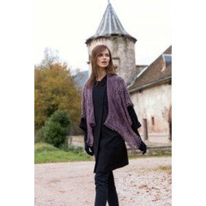 Lang Yarns Omslagdoek van Lang Yarns Magic Tweed