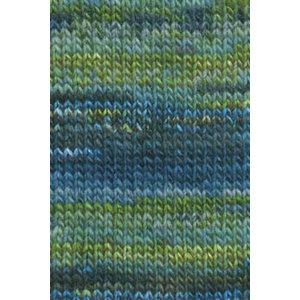 Lang Yarns Mille Colori Big 35 Blauw/groen