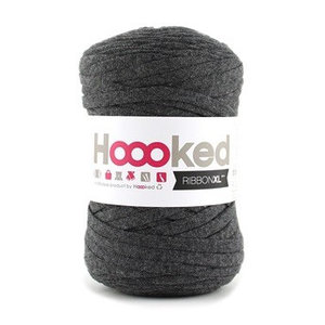Hoooked Ribbon XL Charcoal Anthracite (RXL49)