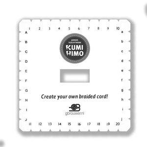 Restyle Kumihimo schijf vierkant