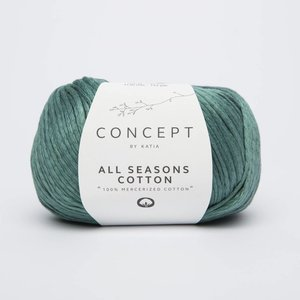 Katia All Seasons Cotton 11 Mintgroen