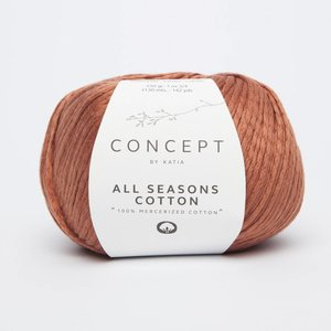 Katia All Seasons Cotton 14 Pasteloranje op = op