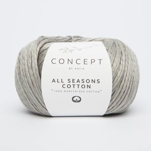 Katia All Seasons Cotton 5 Licht grijs