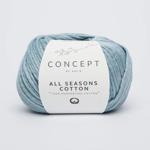 Katia All Seasons Cotton 8 Lichtblauw