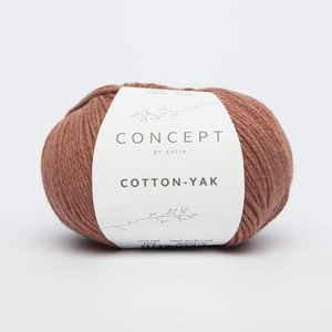 Katia Cotton-Yak 104 Roestbruin