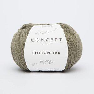 Katia Cotton-Yak 107 Bleekgroen