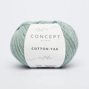Katia Cotton-Yak 111 Witgroen
