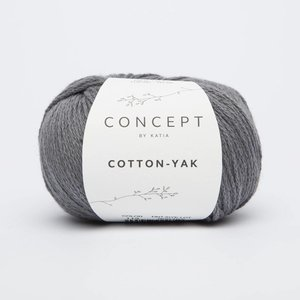 Katia Cotton-Yak 113 Antracietgrijs