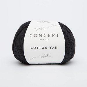 Katia Cotton-Yak 114 Zwart