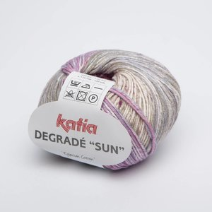 Katia Degrade Sun 111 roze/jeans
