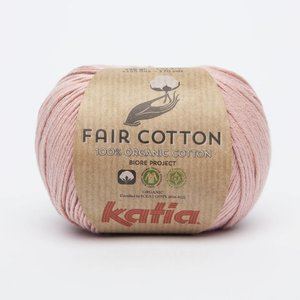 Katia Fair Cotton 13 Lichtroze