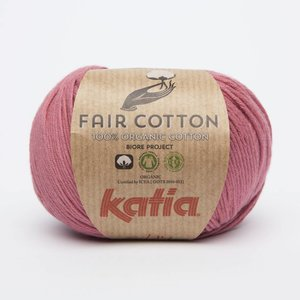 Katia Fair Cotton 14 Framboosrood