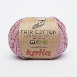 Katia Fair Cotton 15 Medium bleekrood